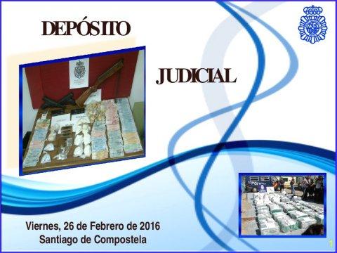 Servizo de xestión de bens comisados  - Xornada sobre a loita administrativa e xudicial contra o narcotráfico